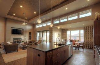 Open Concept Simple One Story