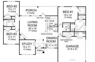 Open Floor House Plans Plan