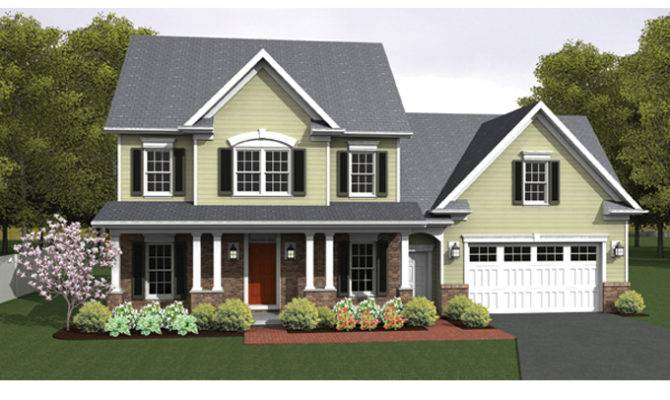 Open Floor Plan Colonial