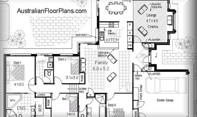 Open Floor Plan Split Levele