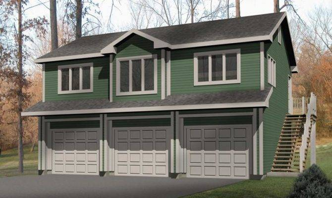 House plans apartment above garage