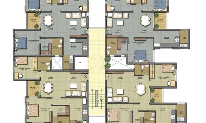 Orchids Kovai Apartments Floor Plans