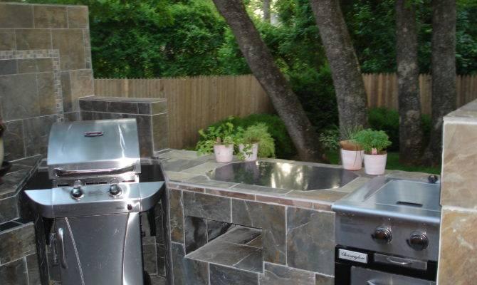 Outdoor Kitchen Deck
