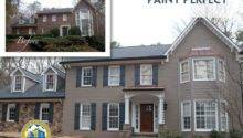 Painted Brick Exteriors