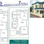 Pakistan Marla House Plan Design Further Map