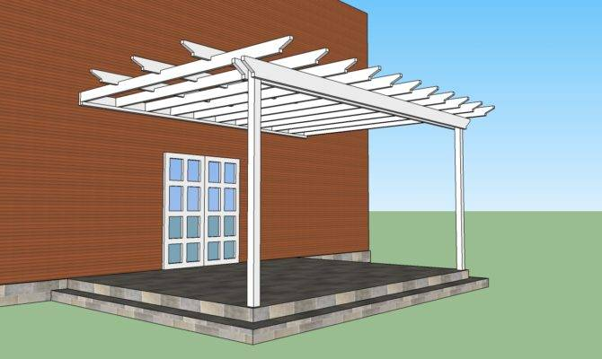 Pdf Diy Plans Pergola Attached House Outdoor Wooden
