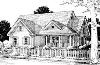 Pepperell Ranch Farmhouse Plan House Plans More