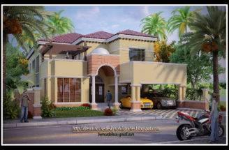 Philippine Dream House Design Mediterranean
