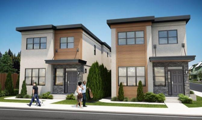 Pics Photos Duplex House Narrow Lot Plan