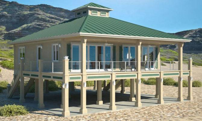 Piers Beach House Plans Cat Homes