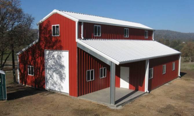 Pin American Style Barn Home Kit Pinterest