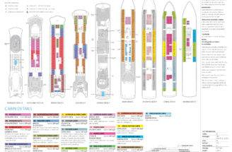 Pin Anthem Seas Deck Plan Promenade Pinterest