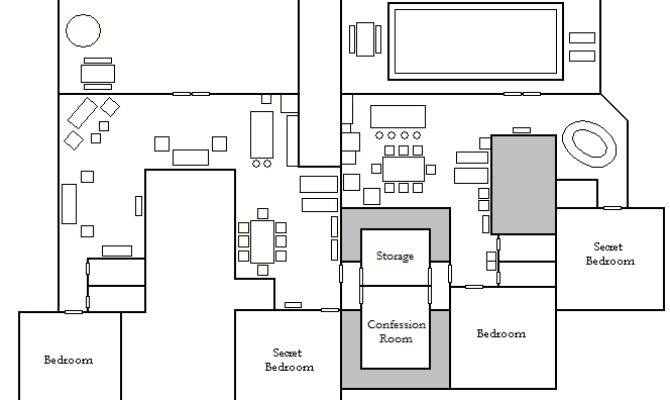 Pinoy Big Brother House Floor Plan Wikipedia