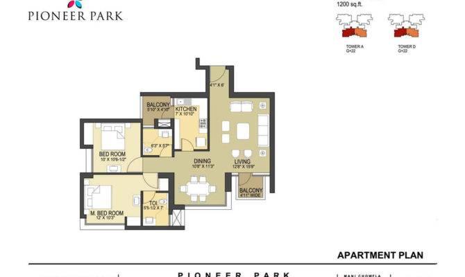 Pioneer Park Floor Plan Sector Gurgaon