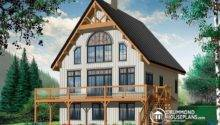 Plan Large Terrace Drummondhouseplans House
