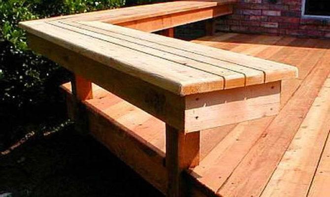 Planning Ideas Deck Bench Plans Master