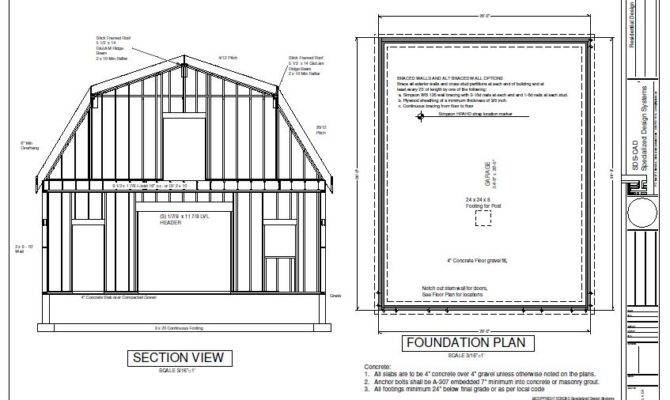 Plans Cabin Garage Plan House Playhouse Uncategorized