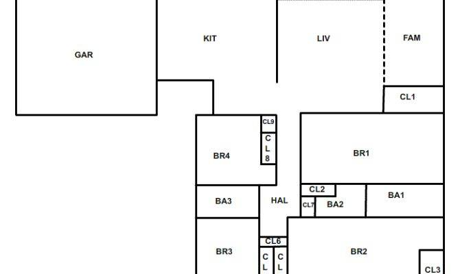 Plans Floor Jpeg Simple One Story House Storey Home