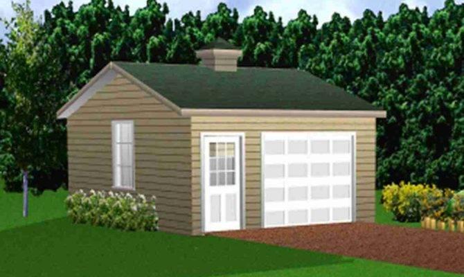 Plans Garages Single Garage Simple Hip Roof