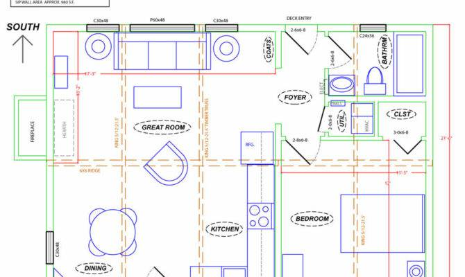 Plans Guest House Also Floor Plan