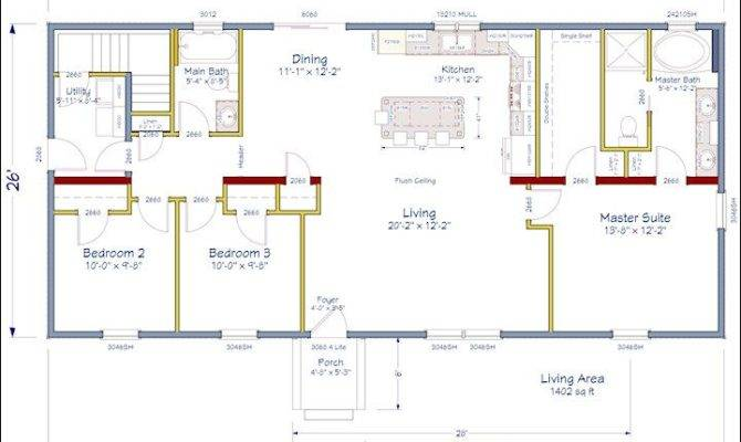 Plans House Ideas Dream Floorplans Open Concept Floor Plan
