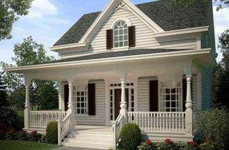 Plans Inside Country Narrow Lot Cottage House Home Designs