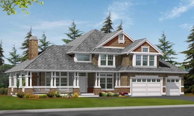 Plans Luxury House Shingle Southern