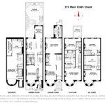 Plans New York City Townhouse Floor Charmed Manor