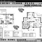 Plans Story Storey Floor Plan Double House