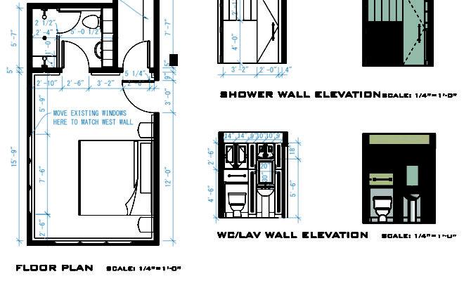 Plans Walk Closet Master Bathroom Floor Second Sun