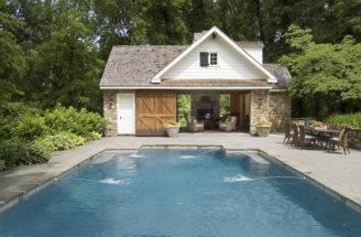 Pool House Architecture Construction Malvern