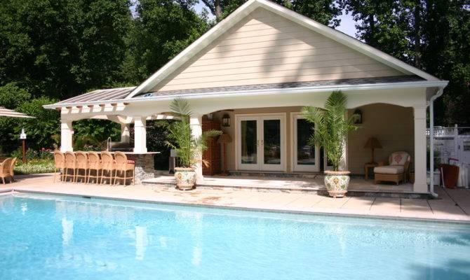 Pool Photograph Elegant House Designs Modern Classic
