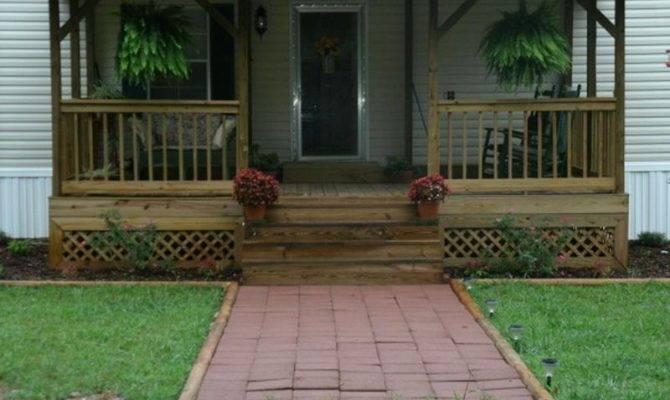 Porch Ideas Mobile Homes Joy Studio Design Best
