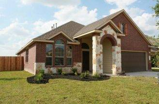 Positioned Corner Lot Combination Brick Stone