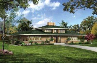 Prairie Style House Plans Dream Home Source