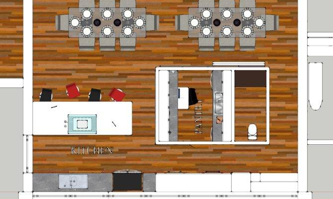 Preliminary Kitchen Butlers Pantry Plan