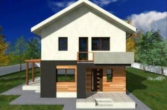 Proiecte Case Mici Etaj Two Story Small House Plans
