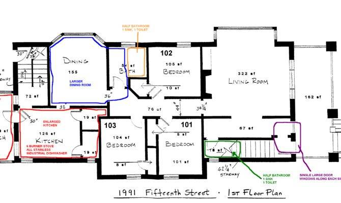 Proposed Floor Plan Revision