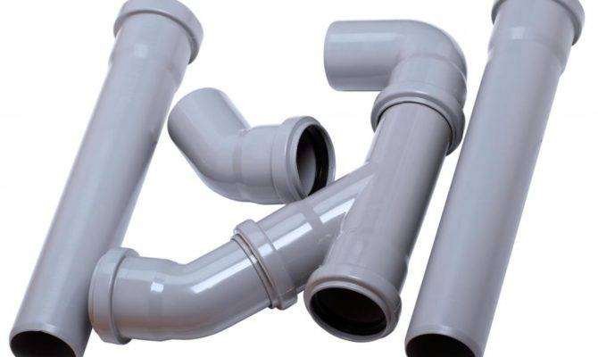 Pvc Fittings Most Common Type Used Residential Plumbing