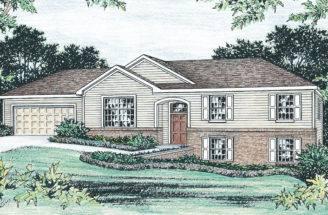 Raised Ranch House Plans