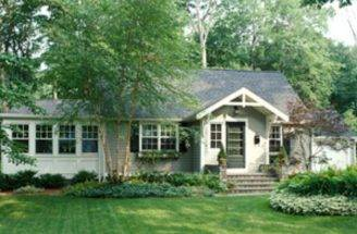 Ranch Home Facade Makeover Curb Appeal Ideas Pinterest