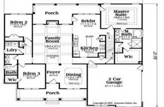 Ranch House Floor Plans Unique American Home