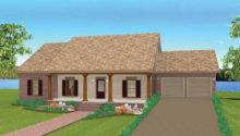 Ranch House Plan Front Plans More