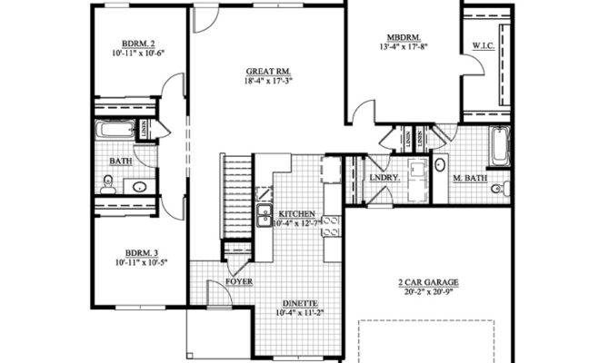 Ranch Plans Somerset Home Planning Architectural Design