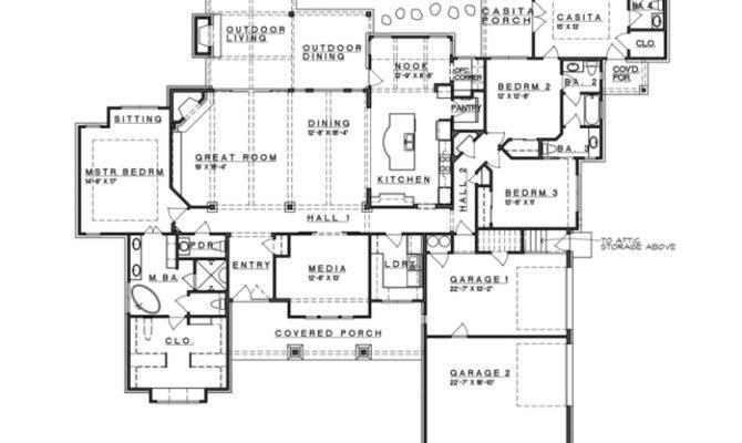 Ranch Style House Plans Basements Pinterest