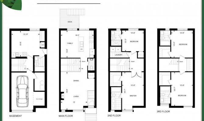 Ravines Lawrence Toronto Maple Model Floor Plans