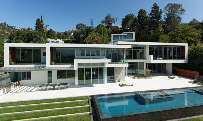 Read Next Hollywood Villas Modern Multi Million Mansion Sunset