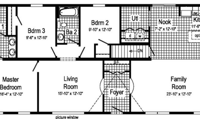 Rectangular Floor Plans Bedroom True Rectangle