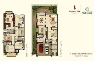 Redwood Park Bedroom Floorplan