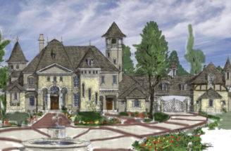 Related French Country House Plans Photos
